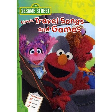 Sesame Street ELMO'S TRAVEL SONGS & GAMES DVD