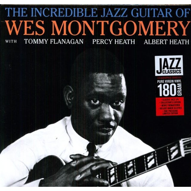 Wes Montgomery INCREDIBLE JAZZ GUITAR Vinyl Record - 180 Gram Pressing