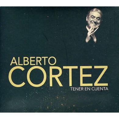 Alberto Cortez TENER EN CUENTA CD