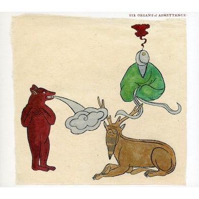 Six Organs Of Admittance ASLEEP ON THE FLOODPLAIN CD