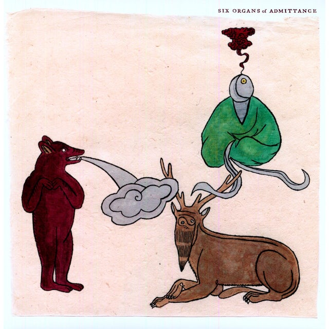 Six Organs Of Admittance ASLEEP ON THE FLOODPLAIN Vinyl Record