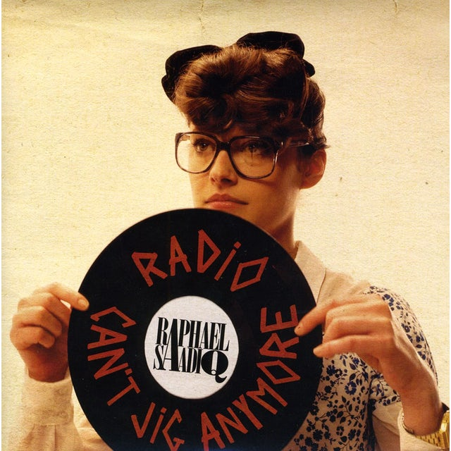 Raphael Saddiq RADIO / CAN'T JIG ANYMORE Vinyl Record