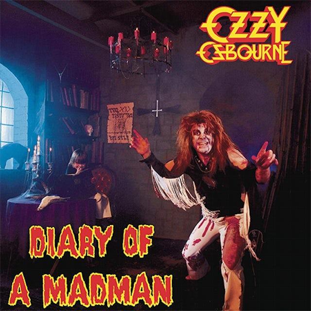 Ozzy Osbourne DIARY OF A MADMAN Vinyl Record