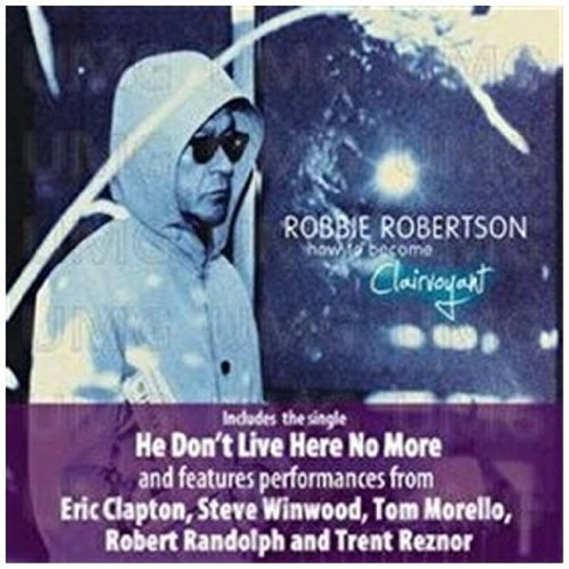 Robbie Robertson HOW TO BE CLAIRVOYANT Vinyl Record