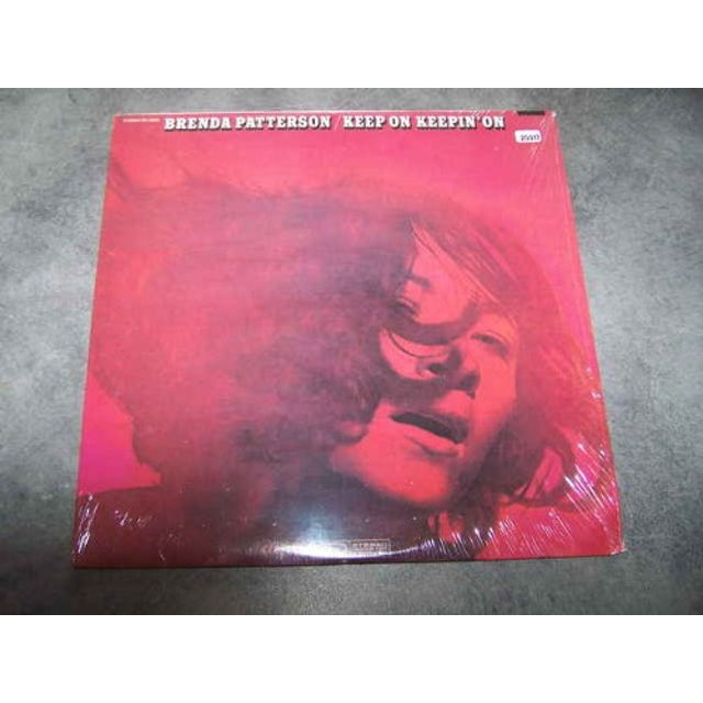 Brenda Patterson KEEP ON KEEPIN ON Vinyl Record