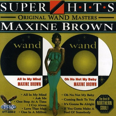 Maxine Brown SUPER HITS CD