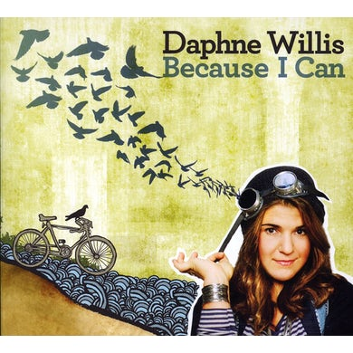 Daphne Willis BECAUSE I CAN CD