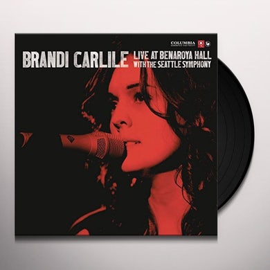 Brandi Carlile  LIVE AT BENAROYA HALL WITH THE SEATTLE SYMPHONY Vinyl Record