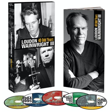 Loudon Iii Wainwright 40 ODD YEARS CD