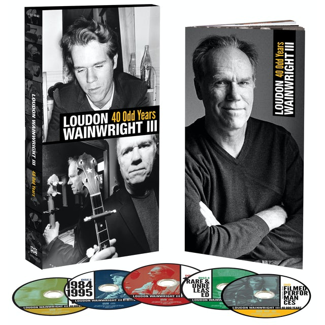 Loudon Iii Wainwright 40 ODD YEARS CD