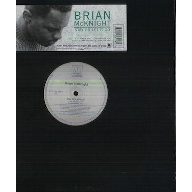 Brian Mcknight STAY OR LET IT GO Vinyl Record