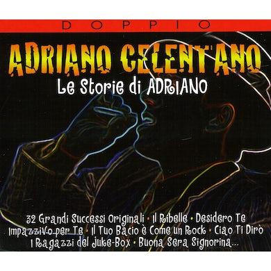 Adriano Celentano LE STORIE DE ADRIANO CD