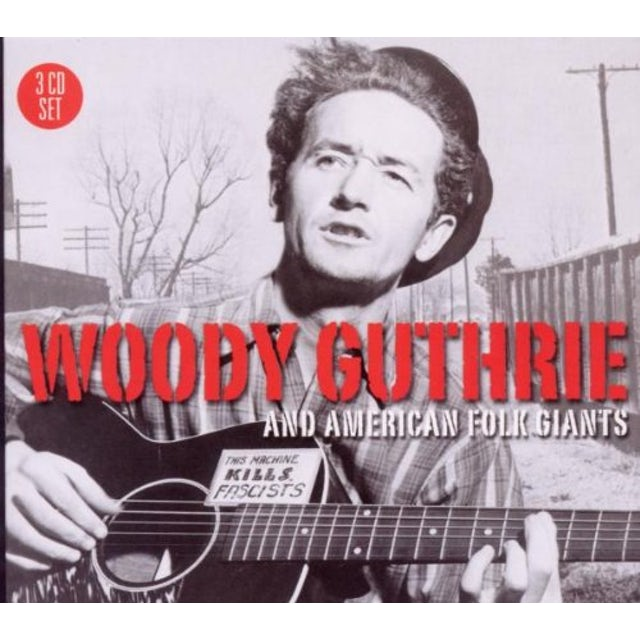 Woody Guthrie AMERICAN FOLK GIANTS CD