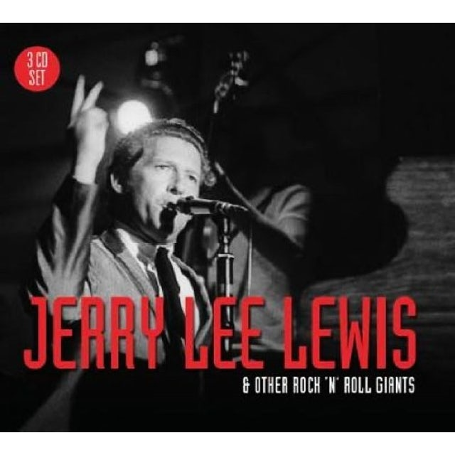Jerry Lee Lewis ROCK N ROLL GIANTS CD
