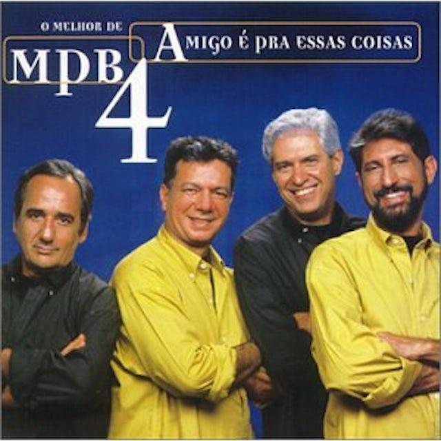 MPB 4 AMIGO E PRA ESSAS COISAS CD
