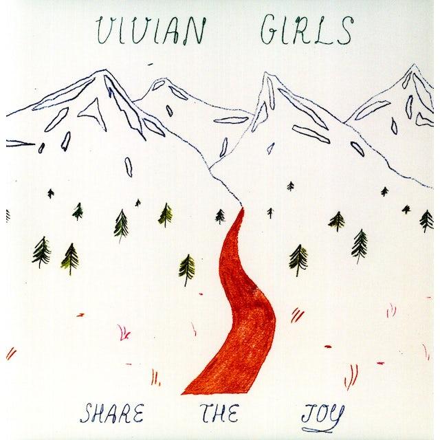 Vivian Girls SHARE THE JOY Vinyl Record