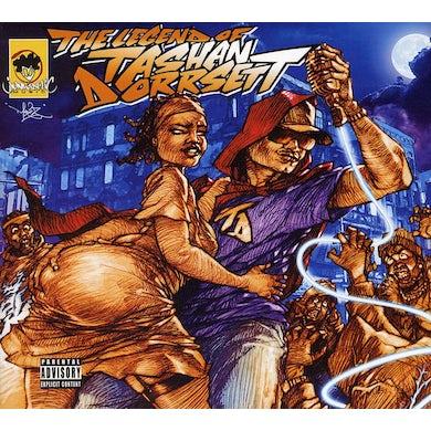 Kool Keith LEGEND OF TASHAN DORRSETT CD