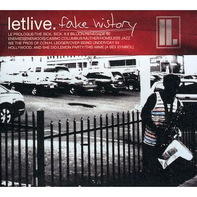 Letlive FAKE HISTORY CD