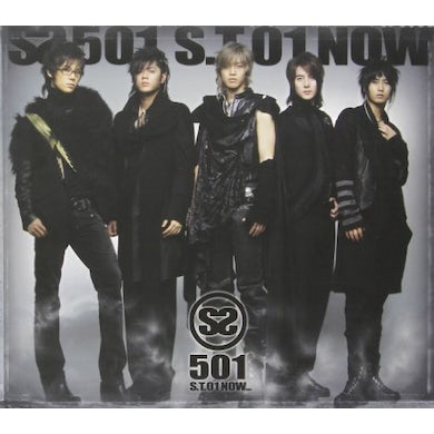 SS501 S.T 01 NOW CD