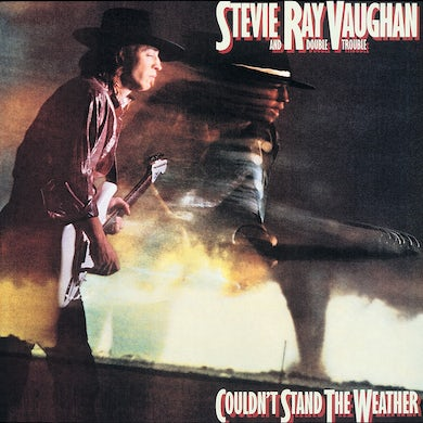 Stevie Ray Vaughan COULDNT STAND THE WEATHER Vinyl Record