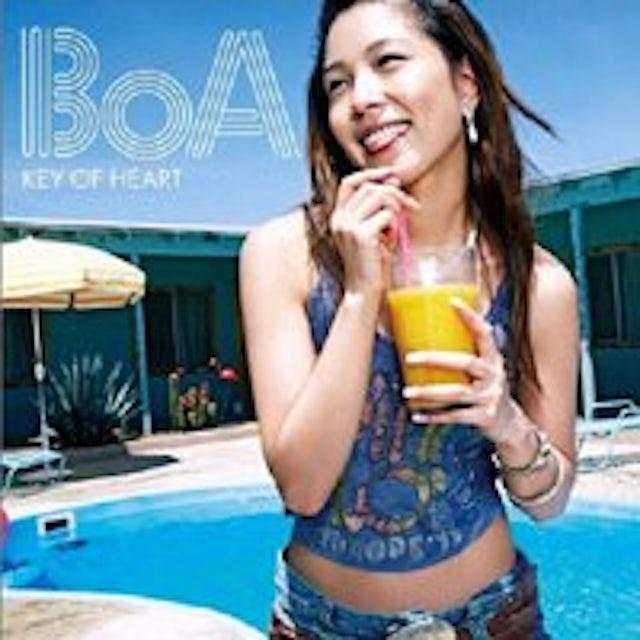 BoA KEY OF HEART CD