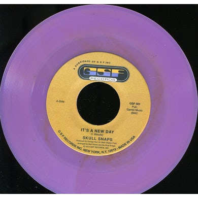 Skull Snaps IT'S A NEW DAY / I TURN MY BACK ON LOVE Vinyl Record