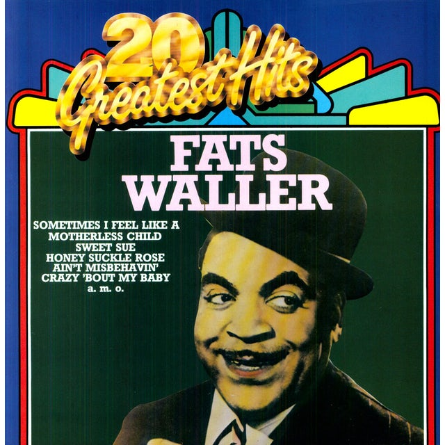 Fats Waller 20 GREATEST HITS Vinyl Record