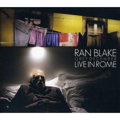 Ran Blake GREY DECEMBER: LIVE IN ROME CD