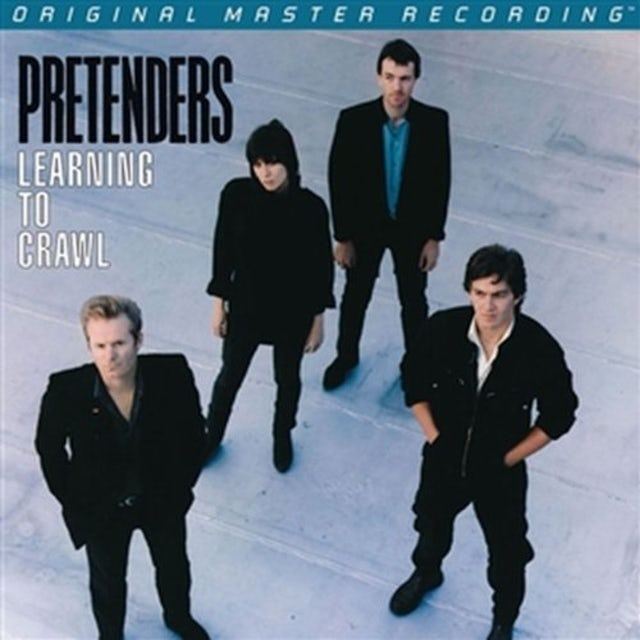 Pretenders LEARNING TO CRAWL Vinyl Record