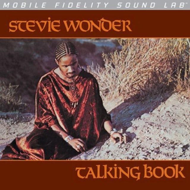 Stevie Wonder TALKING BOOK Vinyl Record - Limited Edition