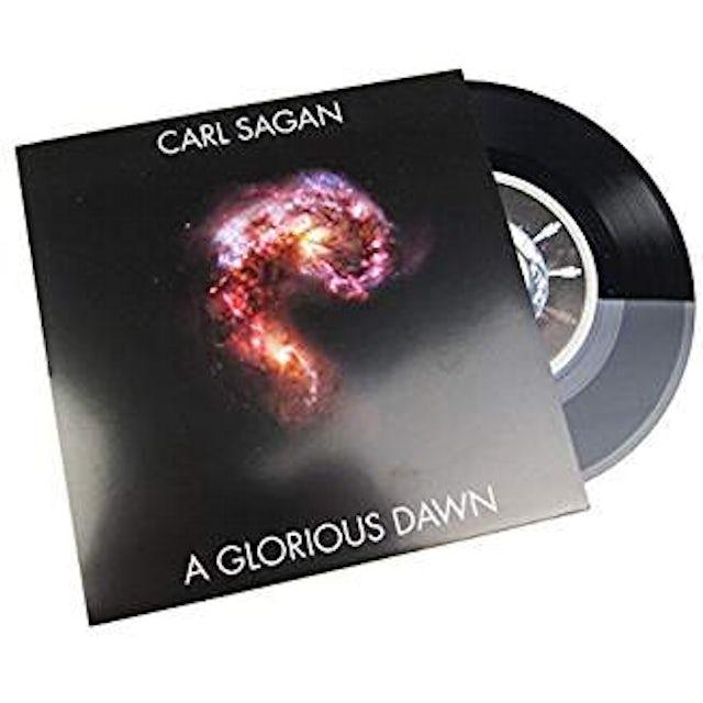 Carl Sagan A GLORIOUS DAWN Vinyl Record