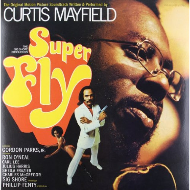 Curtis Mayfield SUPER FLY Vinyl Record