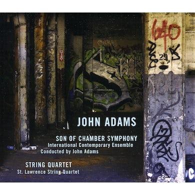 John Adams SON OF CHAMBER SYMPHONY / STRING QUARTET CD