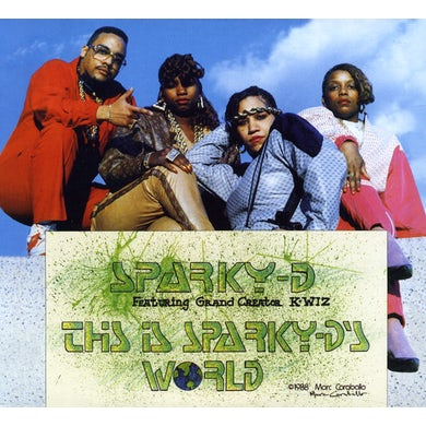 THIS IS SPARKY D'S WORLD CD