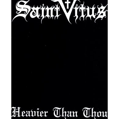 Saint Vitus HEAVIER THAN THOU Vinyl Record