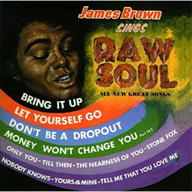 James Brown RAW SOUL Vinyl Record