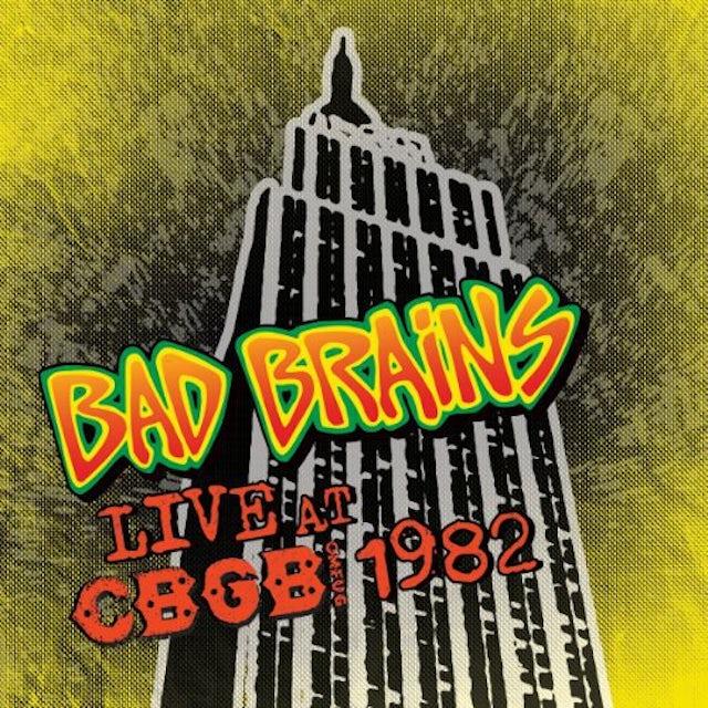 Bad Brains LIVE CBGB 1982 Vinyl Record