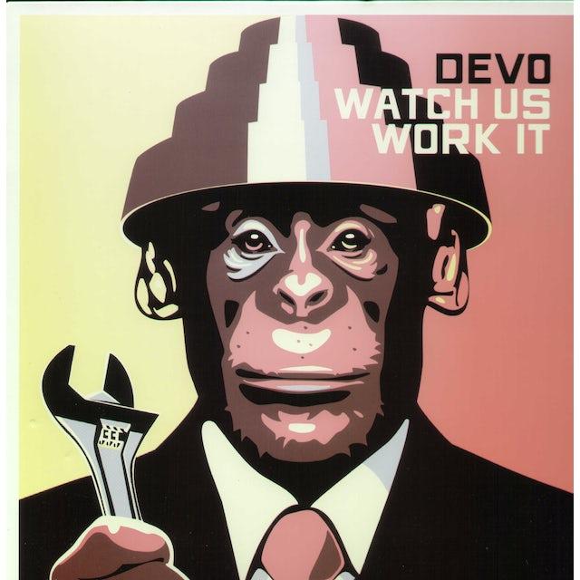 Devo WATCH US WORK IT Vinyl Record