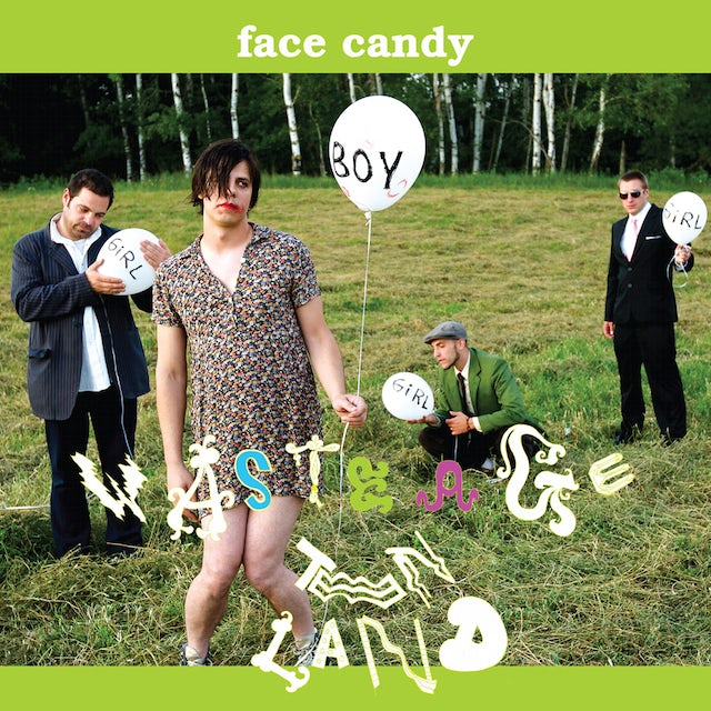 Face Candy WASTE AGE TEEN LAND Vinyl Record