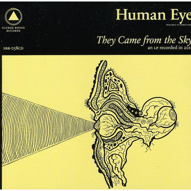Human Eye THEY CAME FROM THE SKY CD