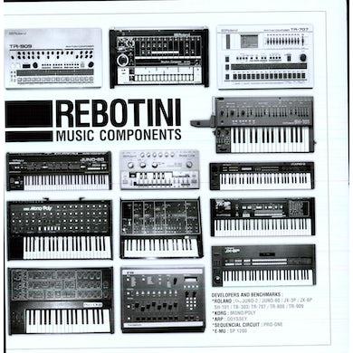 Arnaud Rebotini MUSIC COMPONENT (Vinyl)