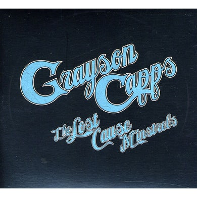 Grayson Capps LOST CAUSE MINSTRELS CD