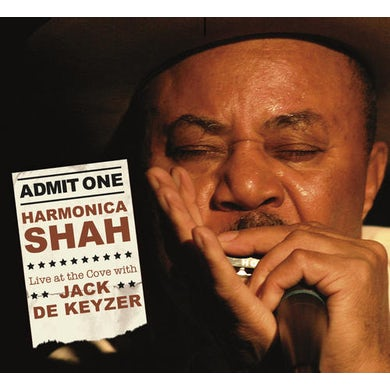 Harmonica Shah LIVE AT THE COVE CD