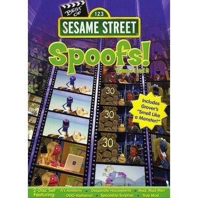 Sesame Street BEST OF SESAME SPOOFS 1&2 DVD