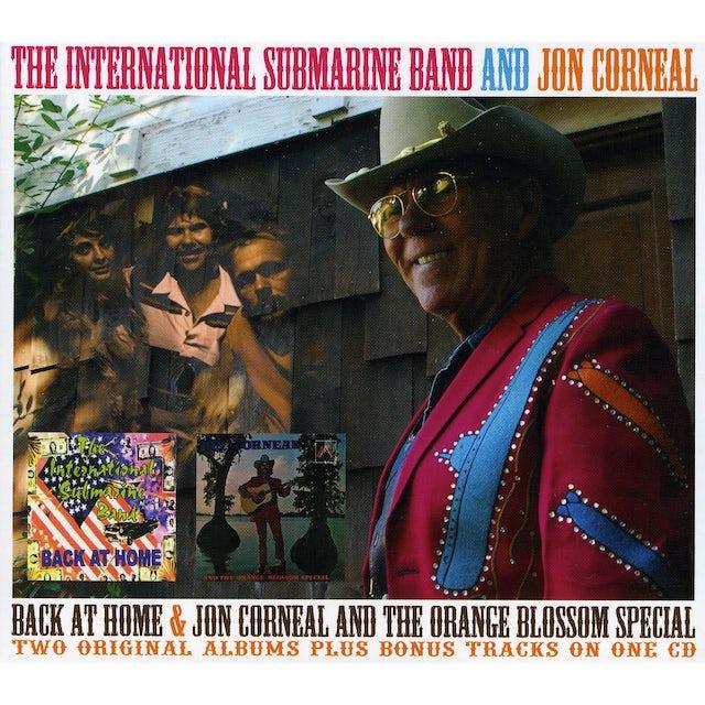 International Submarine Band BACK AT HOME / JON CORNEAL & ORANGE BLOSSOM CD