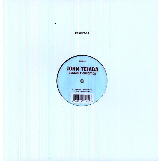 John Tejada UNSTABLE CONDITION Vinyl Record