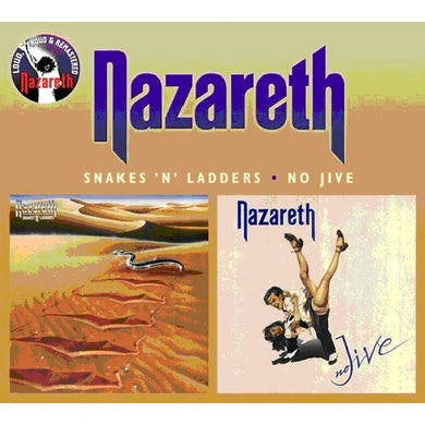 Nazareth SNAKES N LADDERS / NO JIVE CD