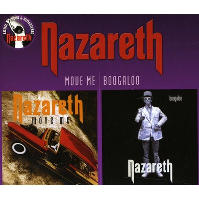 Nazareth MOVE ME / BOOGALOO CD