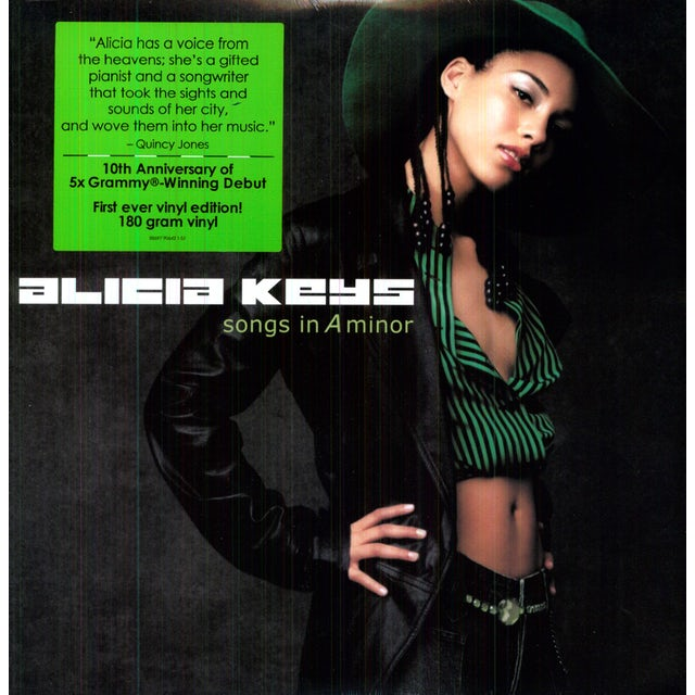Alicia Keys SONGS IN A MINOR: 10TH ANNIVERSARY DELUXE Vinyl Record