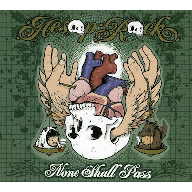 Aesop Rock NONE SHALL PASS CD